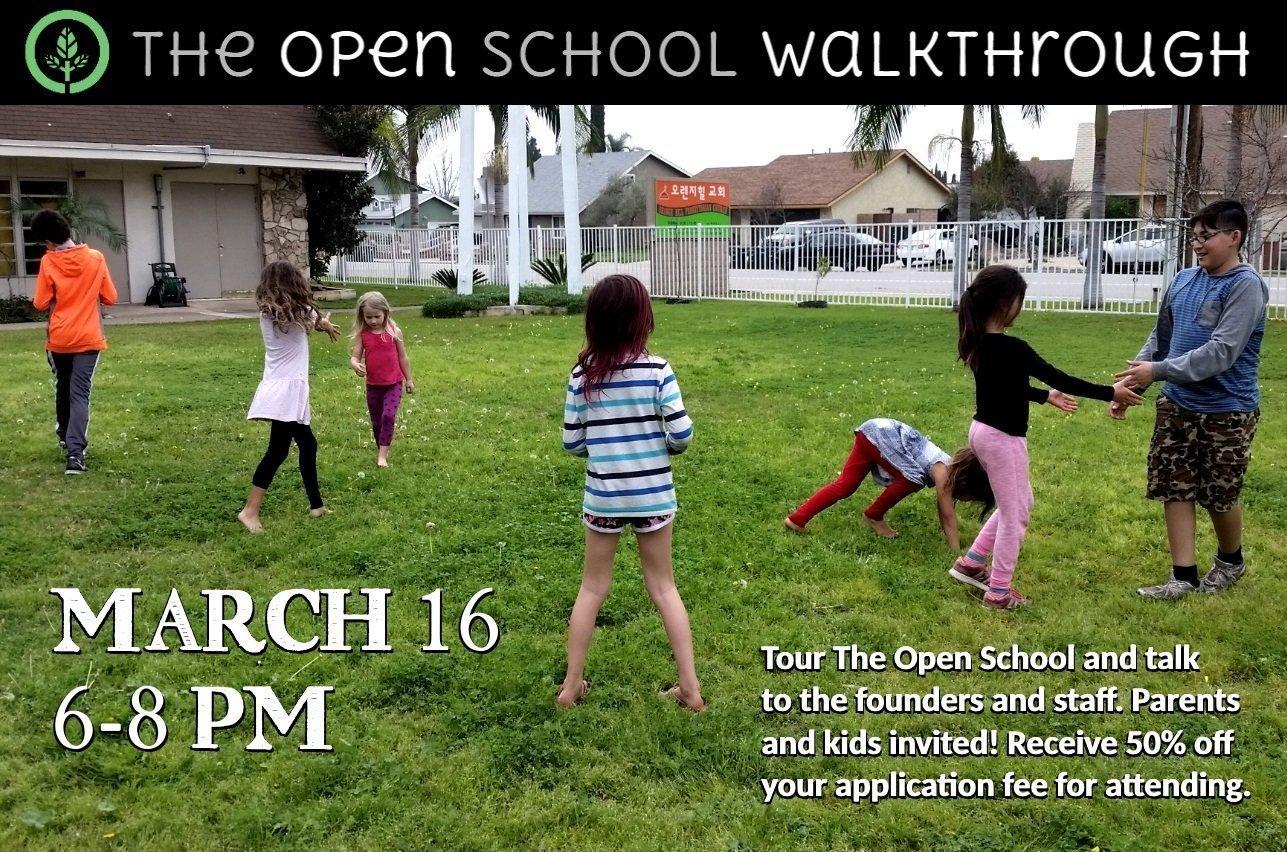 The Open School Walkthrough